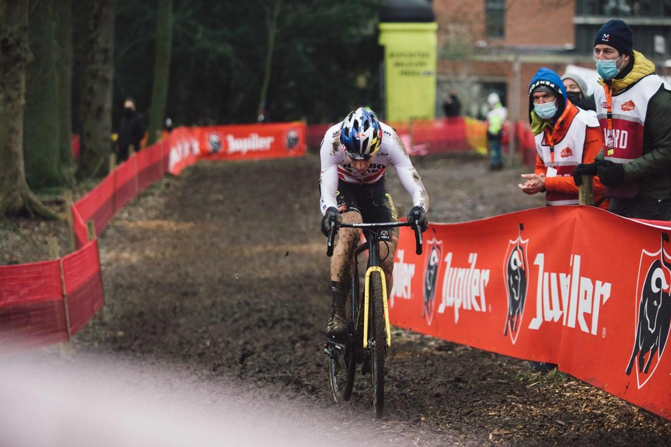 Van Aert wins today's race and general ranking