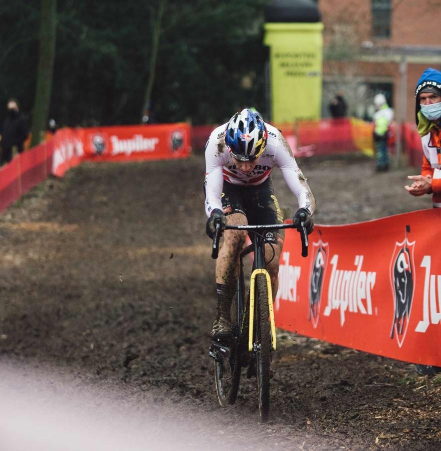 Van Aert wins today's race and general ranking