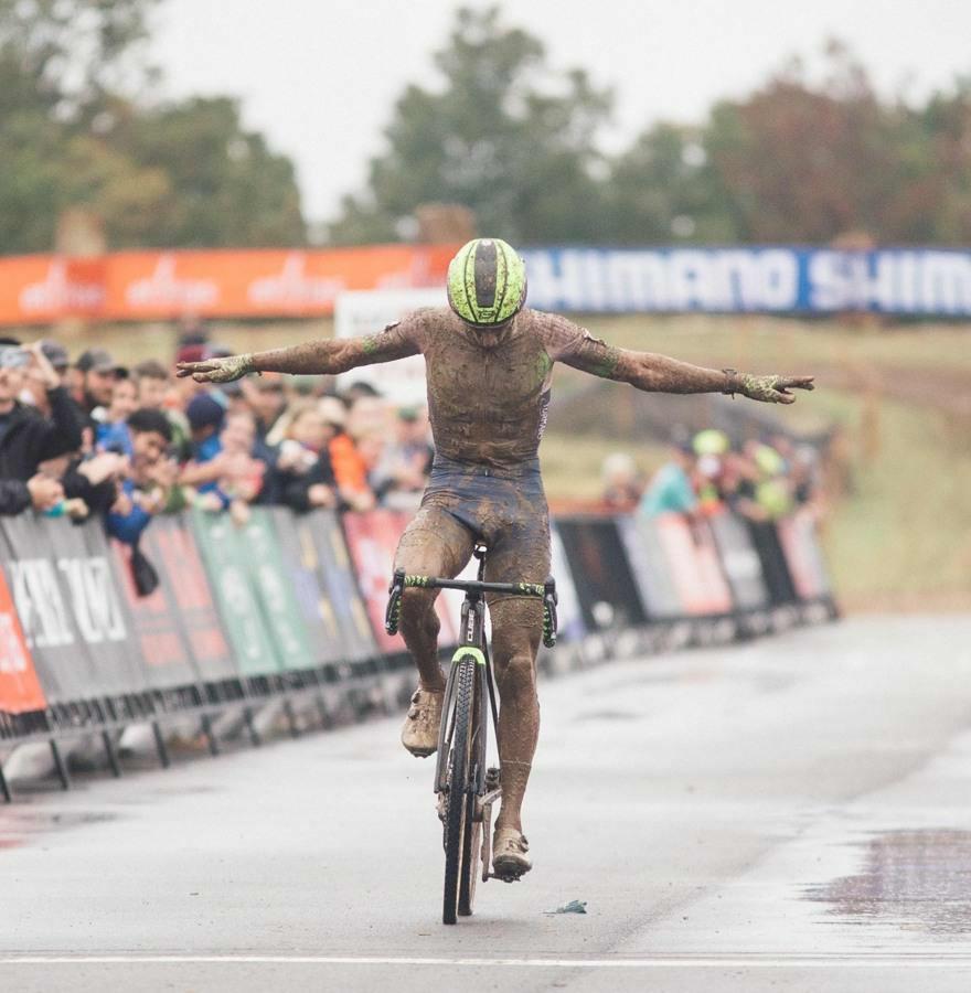 Quinten Hermans wins first-ever world cup race